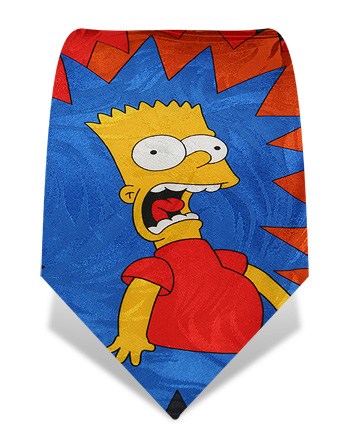 Cravate simpson